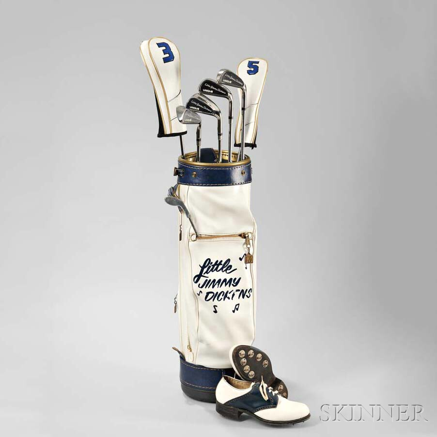Little Jimmy Dickens     Golf Clubs, Bag, and Shoes