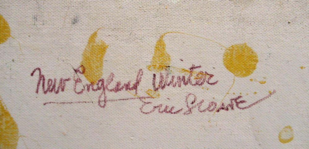 Eric Sloane (American, 1905-1985)      New England Winter