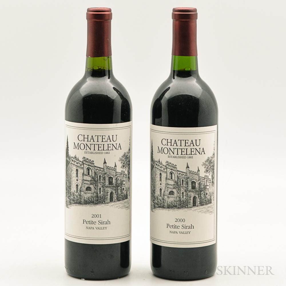 Chateau Montelena Petit Syrah, 2 bottles