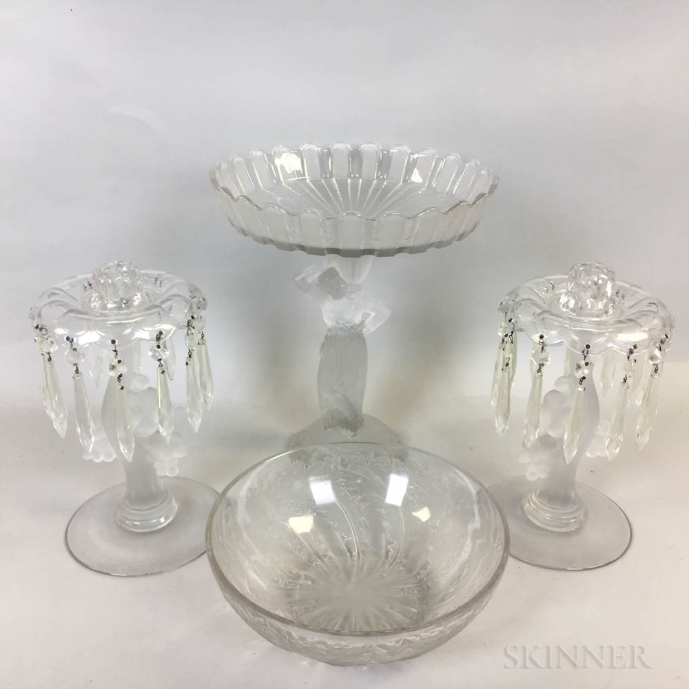 Group of Crystal Tableware