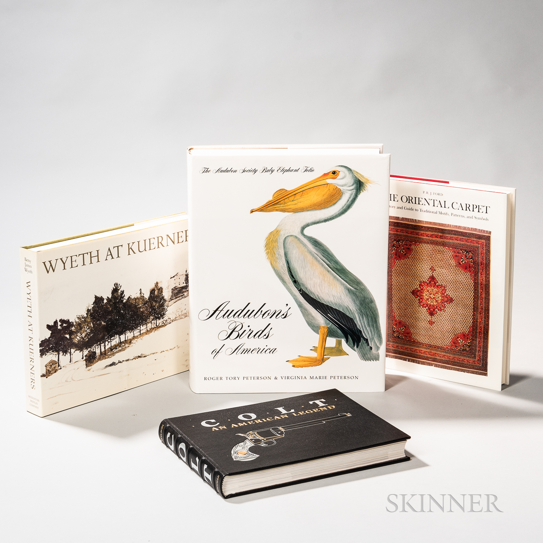 Four Hardcover Bound Books