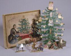 Joies de Noel Boxed Paper Nativity Set