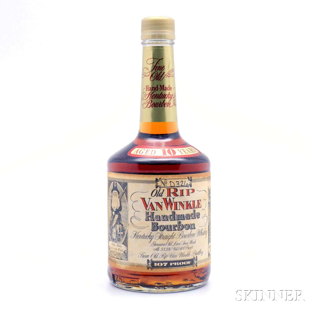 Old Rip Van Winkle 10 Years Old, 1 750ml bottle
