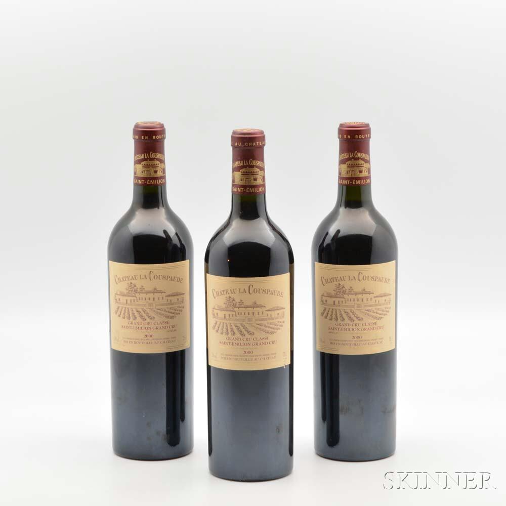 Chateau La Couspaude 2000, 11 bottles