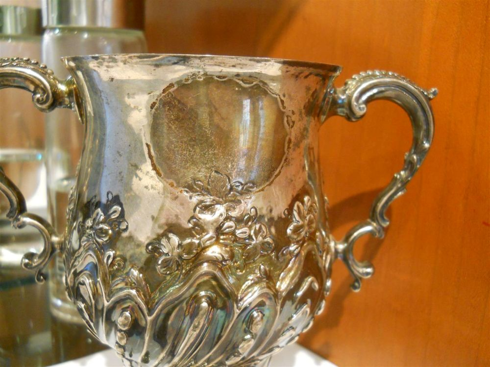 George III Sterling Silver Two-handled Cup