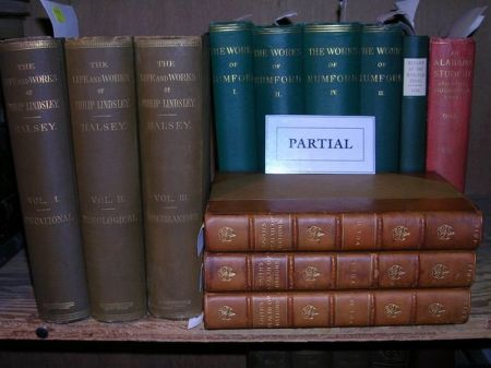 Group of Twenty-three Volumes Related to Economics, Ethnology, Religion, Science,   etc.