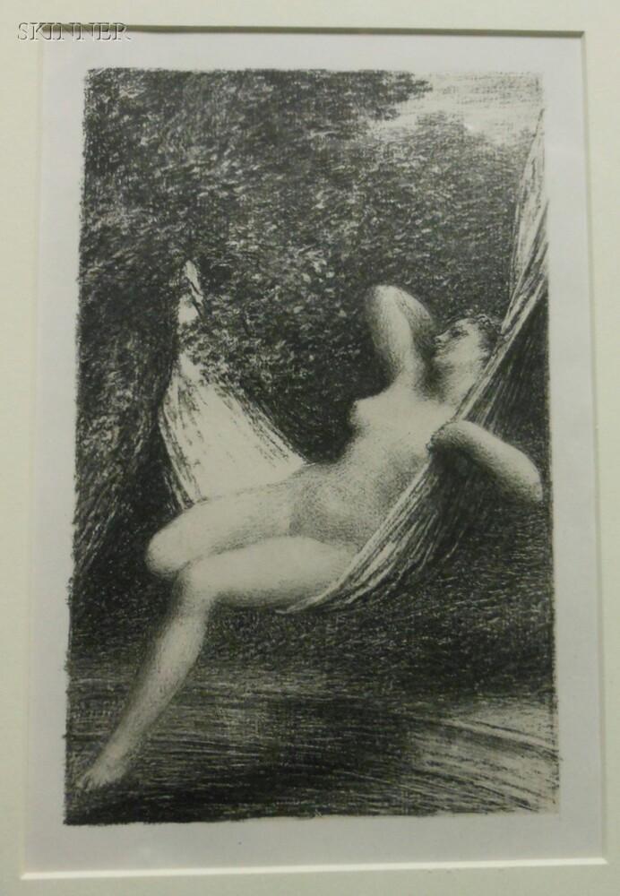 Henri Fantin-Latour (French, 1836-1904)      Two Nudes: Sara la baigneuse