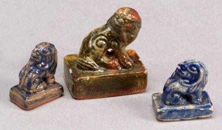 Three Ceramic Seals