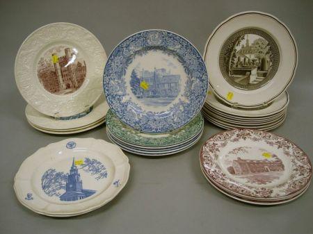 Twenty-four Collector's Plates