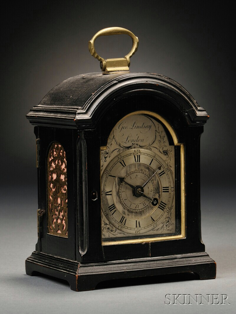 Antique English And French Clocks Skinner Auctioneers