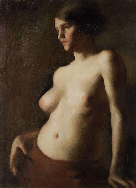 Marguerite Stuber Pearson (American, 1898-1978)  Female Nude