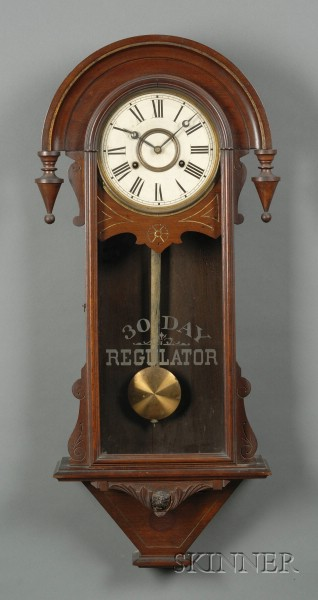 Thirty-Day Regulator Wall Clock