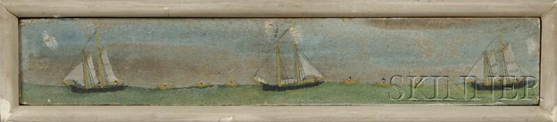 """John Orne Johnson """"J.O.J."""" Frost (Marblehead, Massachusetts, 1852-1928)      Fishing on the Grand Banks."""