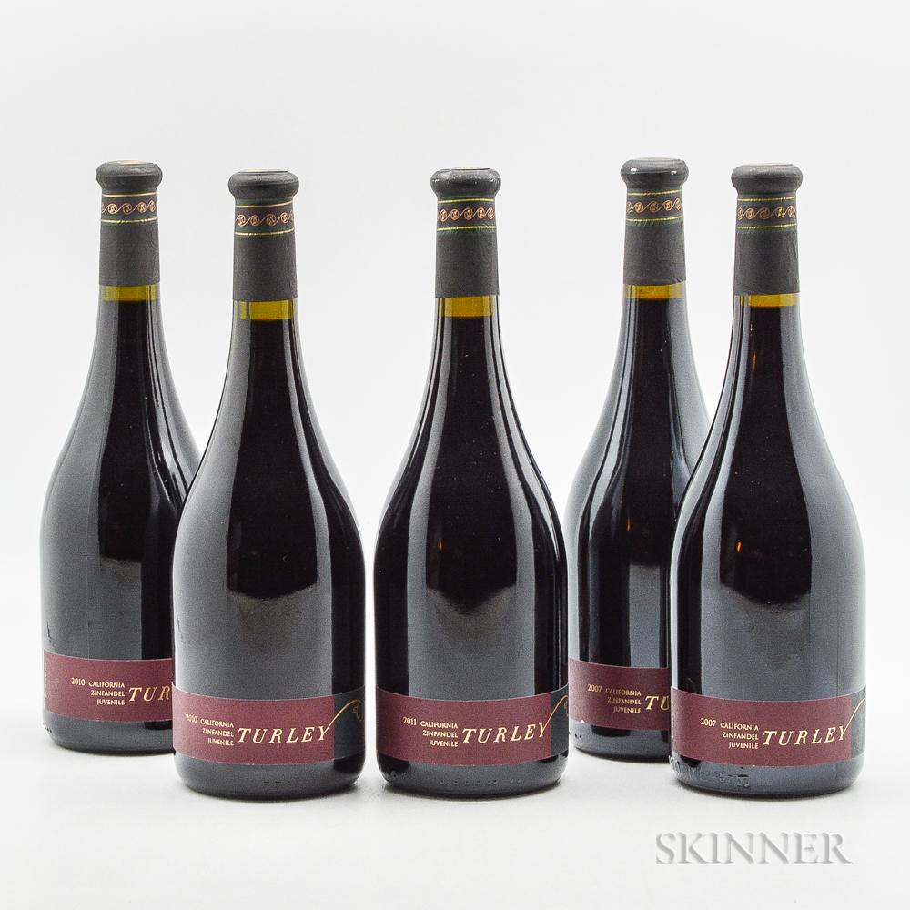 Turley Juvenile Zinfandel, 5 bottles