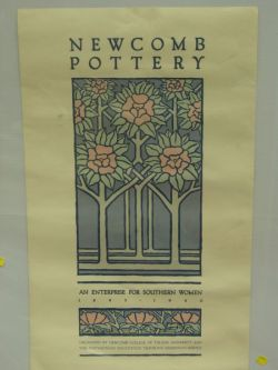 Newcomb Pottery, An Enterprise for Southern Women 1893-1940 Exhibition Poster.