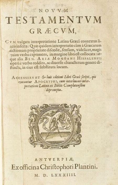 (Bible, Polyglot)
