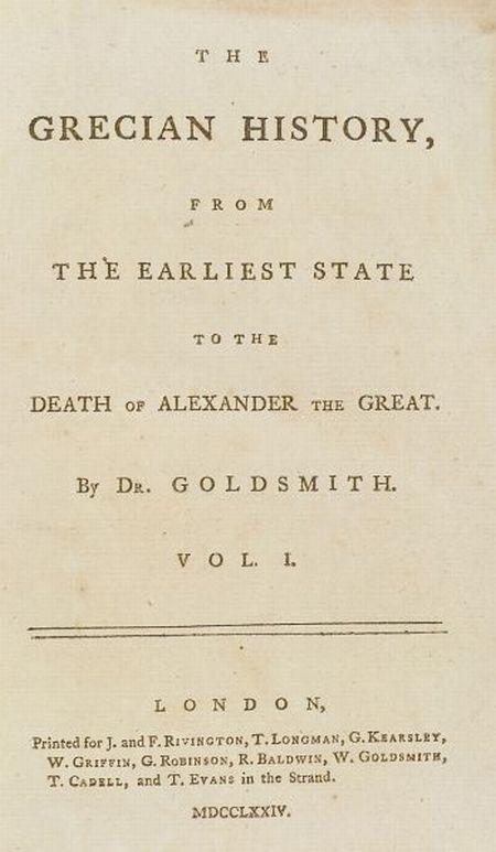 Goldsmith, Oliver (1728-1774)