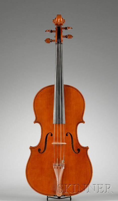 American Viola, Marten Cornellisen, Northampton, 1989