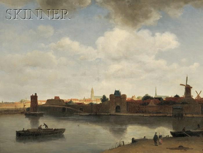 Dutch School, 19th Century      An Extensive View of Delft