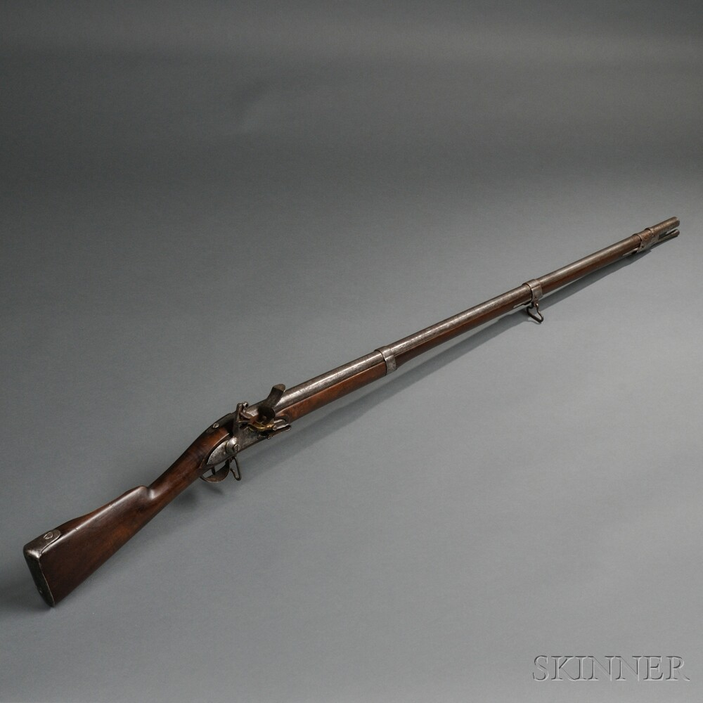 French Model 1777 Musket with Mixed Parts