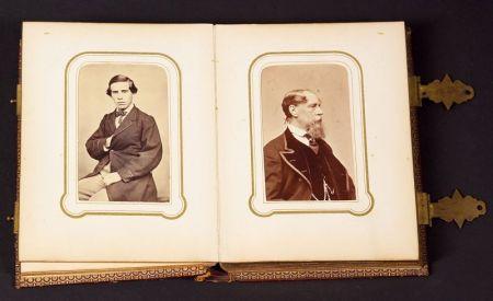 Carte-de-Visite Photograph Album