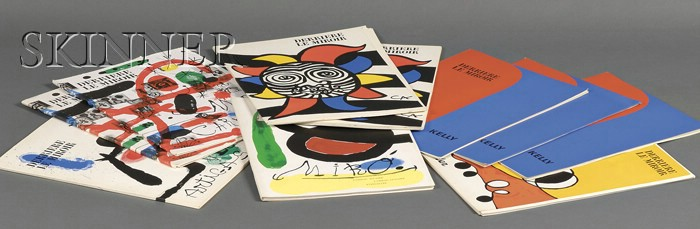 Galerie Maeght, editor (French, 20th Century)      Lot of Ten Issues of DERRIERE LE MIROIR