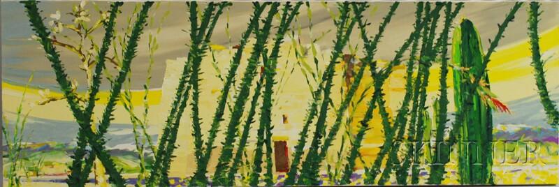 Donald Munson (American, 20th/21st Century)      Casa Grande Spring