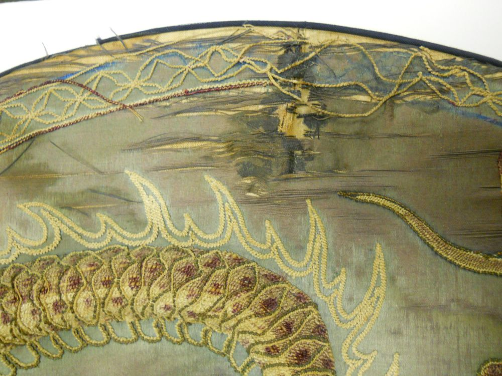 Embroidered Dragon Roundel