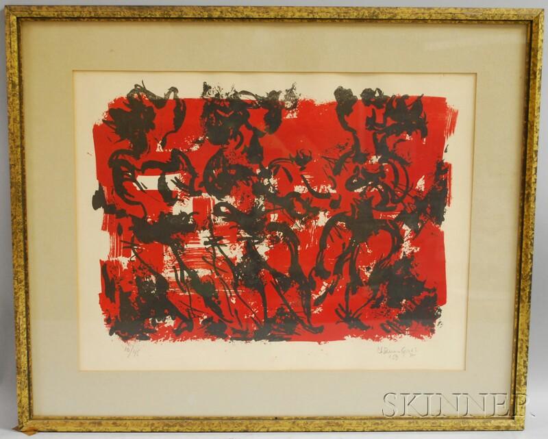 Chaim Gross (American, 1904-1991)      Three Dancers