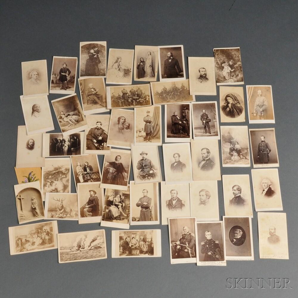 Forty-six Carte-de-visites