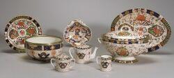 Extensive Collection of Imari Palette Porcelain