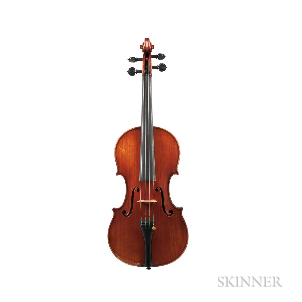 French Violin, Amédée Dieudonné, Mirecourt, 1926