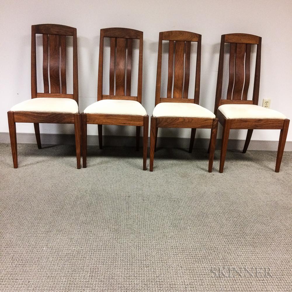 """Four Joseph Van Benten Furnituremakers """"Pasadena II"""" Side Chairs"""