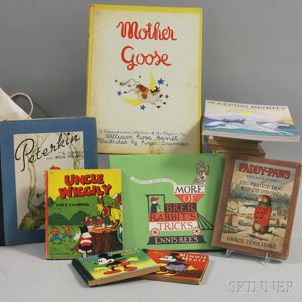 Large Group of Children's Literature Titles