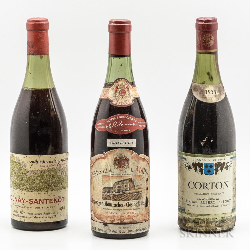 Mixed Burgundy, 3 bottles