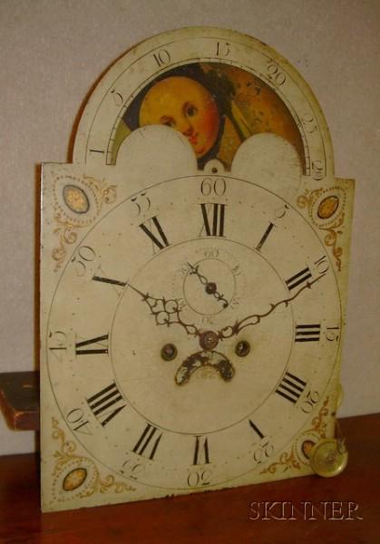 Federal Mahogany Inlaid Tall Clock