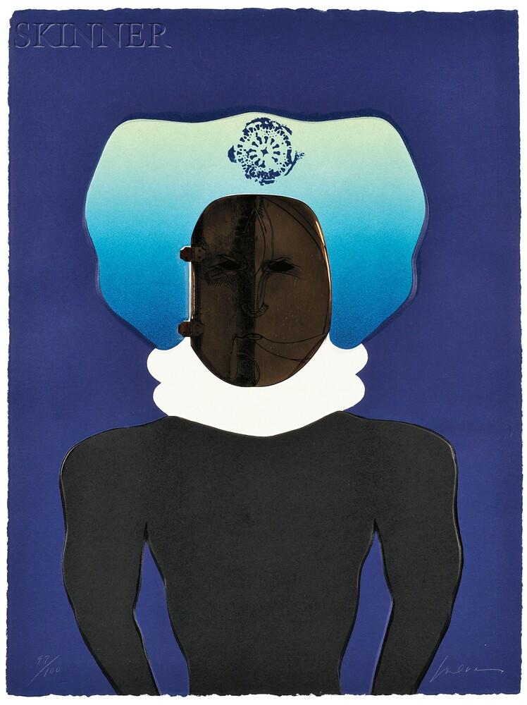 José Luis Cuevas (Mexican/American, b. 1933)      La Máscara