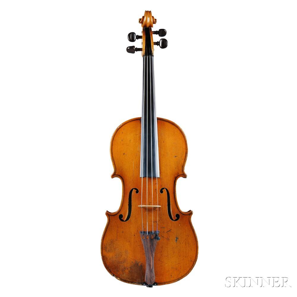French Violin, Mirecourt, c. 1890