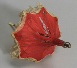 Pagoda Parasol for a Fashionable French Doll