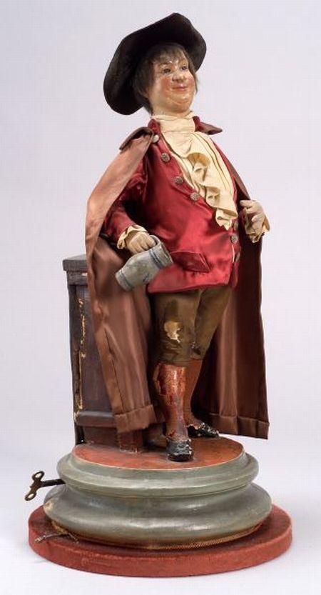 Rare Gustave Vichy Automaton of a Drunkard