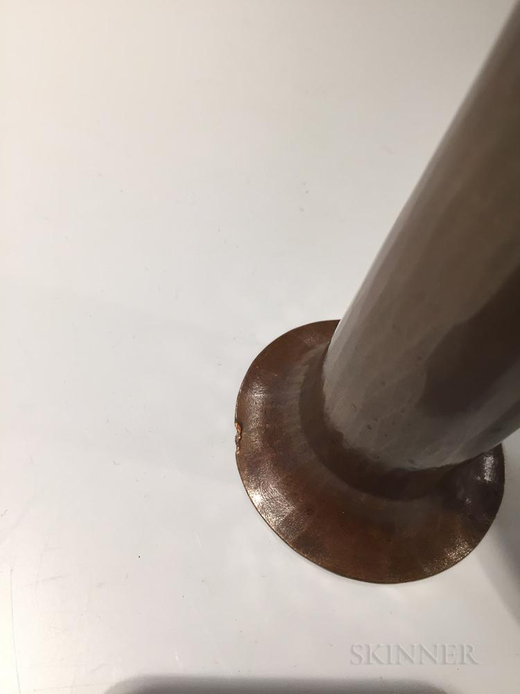 Roycroft American Beauty Copper Vase