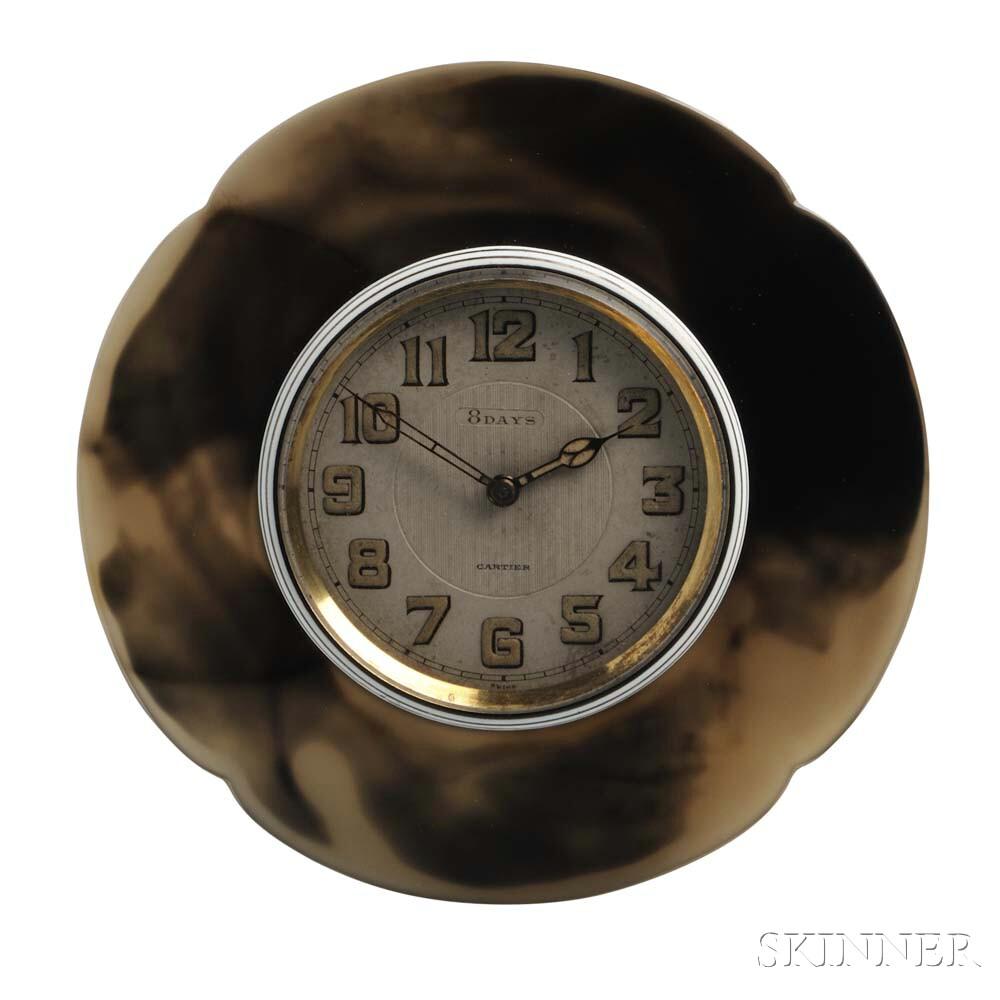 Art Deco Clock, Cartier