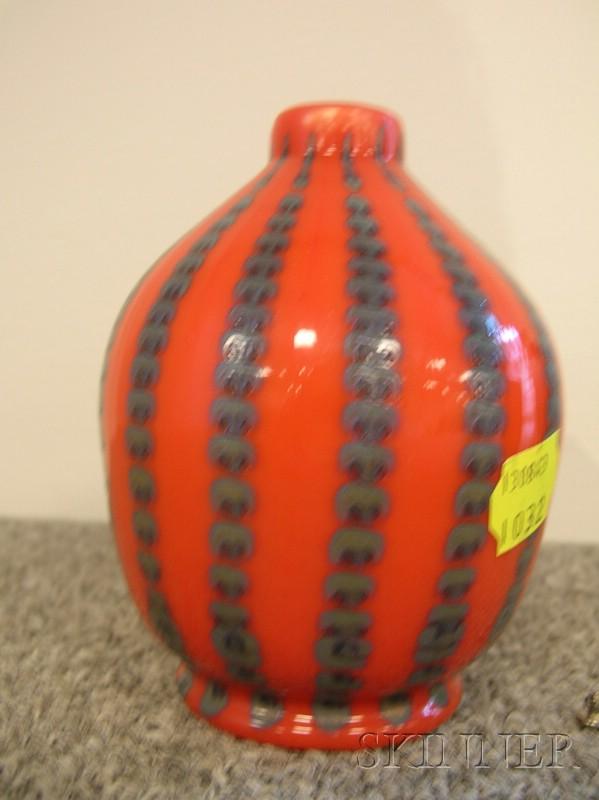 Tiffany and Company Glass Mantel Vase