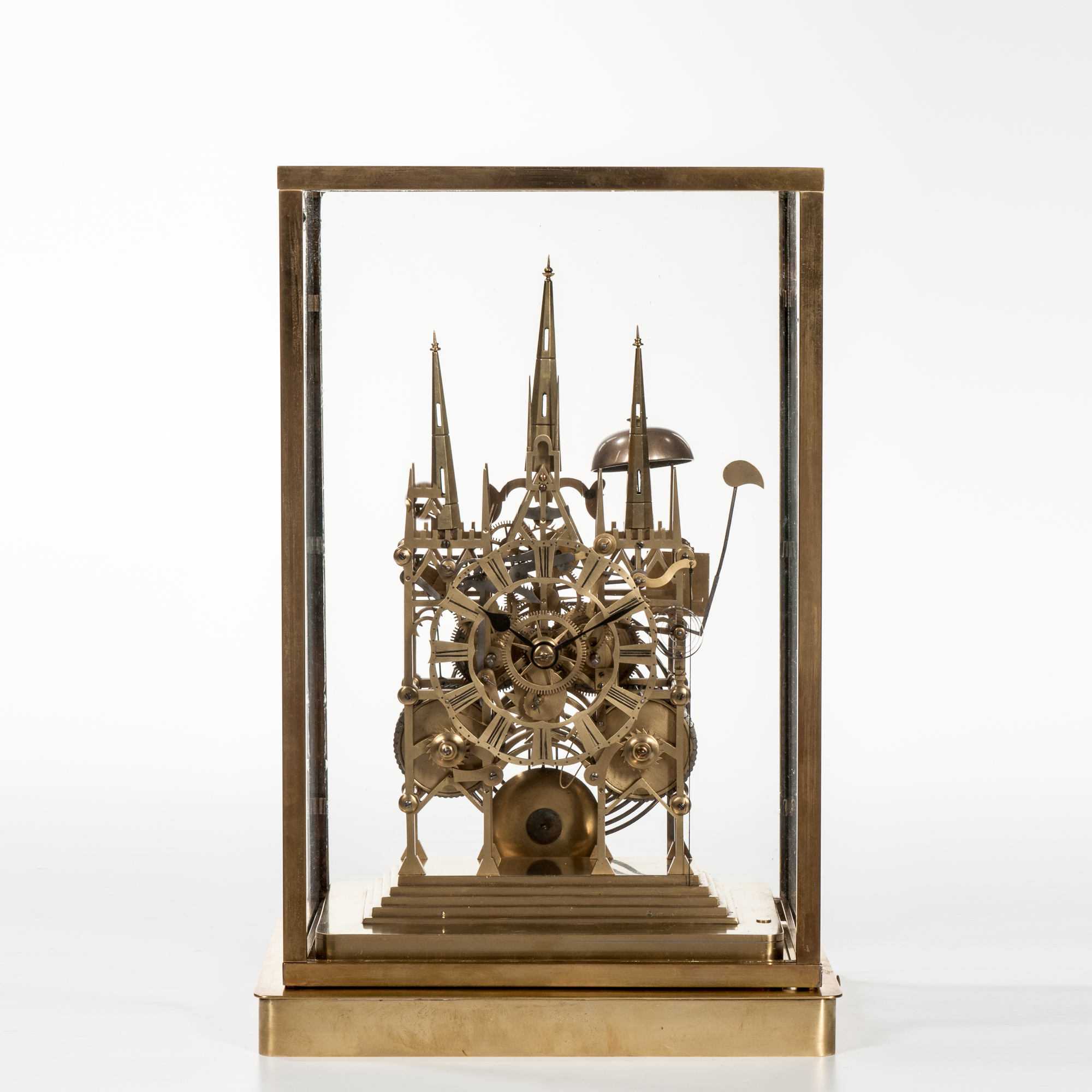 Litchfield Cathedral Striking Skeleton Clock
