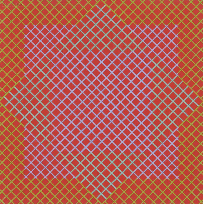 Richard Anuszkiewicz (American, b. 1930)      Untitled [Red, Pink, Green] / An Op Art Composition
