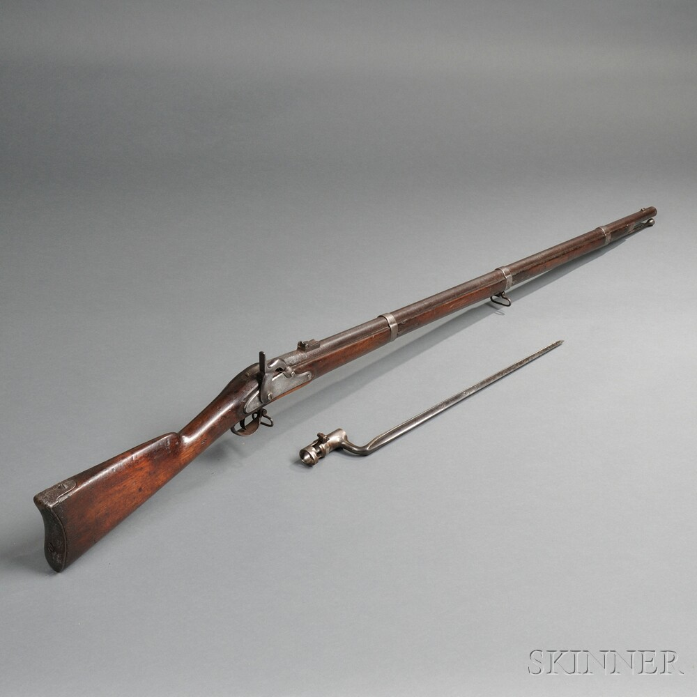 Model 1861 Springfield Rifle-musket with Bayonet