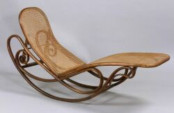 Thonet Bentwood Chaise Rocker