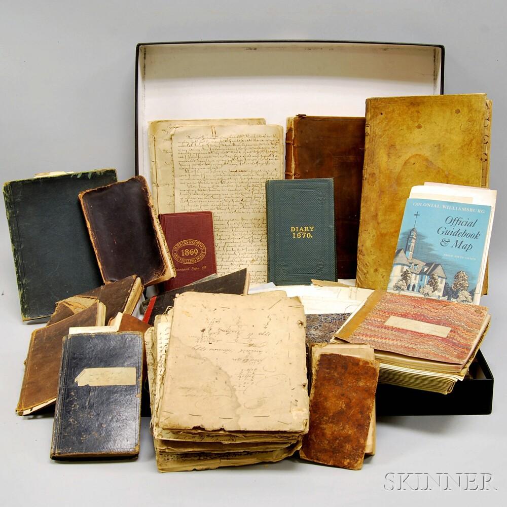 Ephemera Collection, New England, 1676-1930: