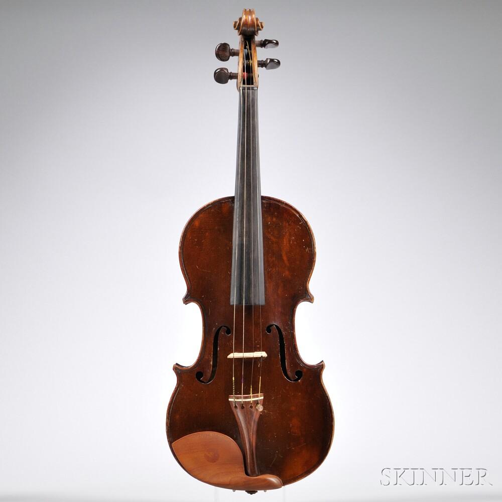 Violin, Mirecourt, c. 1800