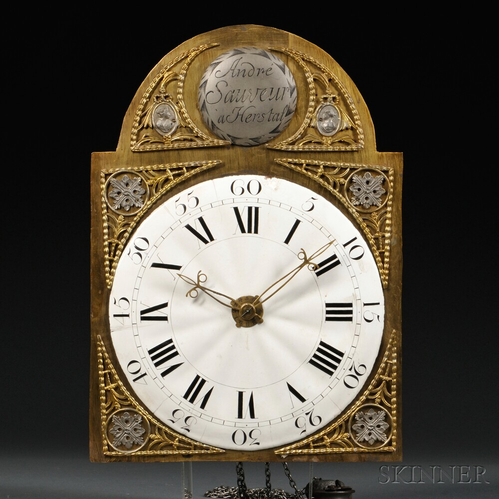 Belgian Tall Clock by Andre Sauveur